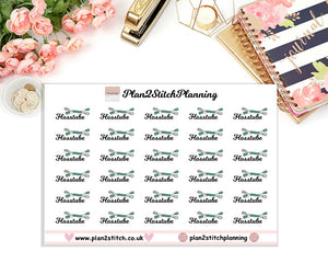 Flosstube Planner Stickers