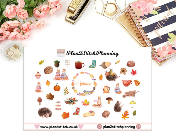 Autumn Planner Stickers