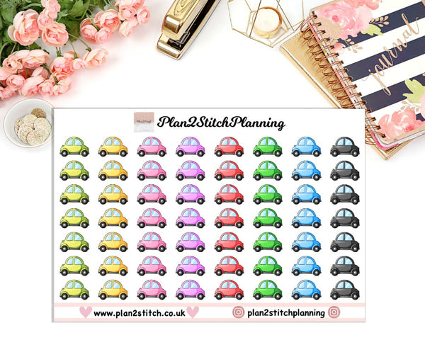 Cars Planner Stickers