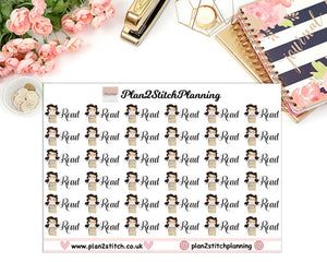 Read Planner Stickers