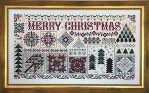 Christmas Quilts by Rosewood Manor Cross Stitch Pattern