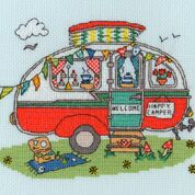 Sew Dinky Caravan Bothy Threads Kit
