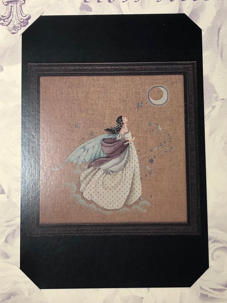 The Fairy Moon MDL2 Mirabilia Cross Stitch Chart/Embellishment Pack
