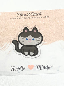 Meowy Cat Resin Needle Minder
