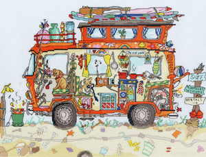 Camper Van Cut-Thru' Bothy Threads Kit