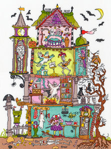 Haunted House Cut-Thru Bothy Threads Kit