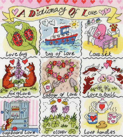 A Dictionary Of Love Bothy Threads Kit