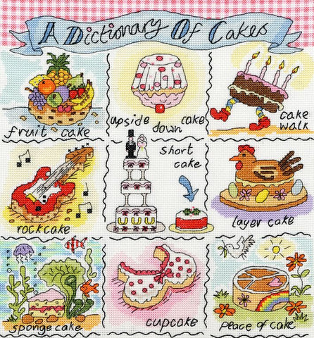 A Dictionary Of Cakes Bothy Threads Kit
