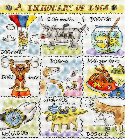 A Dictionary Of Dogs Bothy Threads Kit
