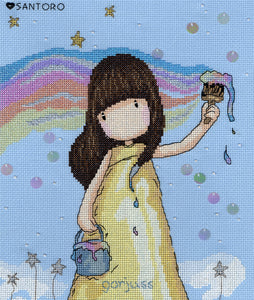Rainbow Dreams Gorjuss Bothy Threads Kit