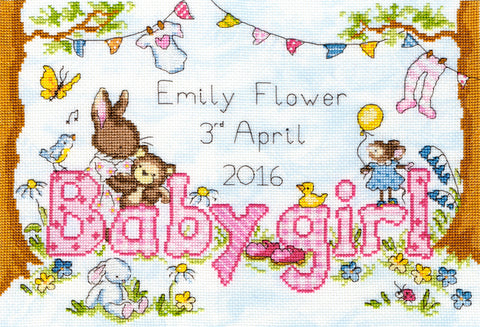 Bunny Love- Girl Bothy Threads Kit