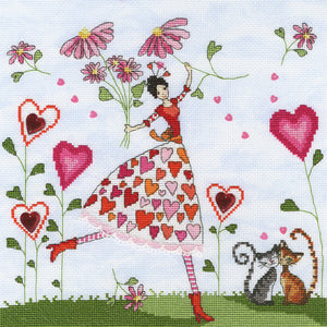 Miss Heart Bothy Threads Kit