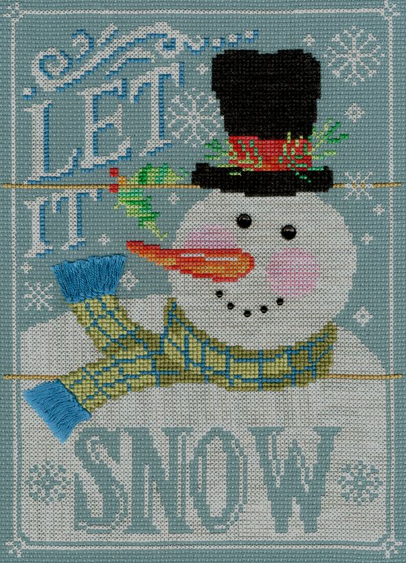 Let It Snow Bothy Threads Kit