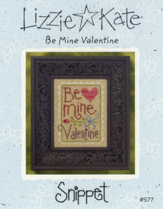 Be Mine Valentine Snippet Lizzie Kate Chart