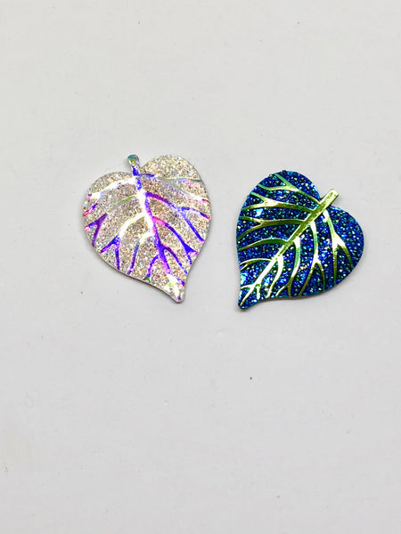 Sparkly Leaf Needleminders