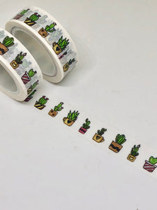 Cute Cactus Washi Tape