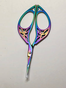 Rainbow Needlework Scissors