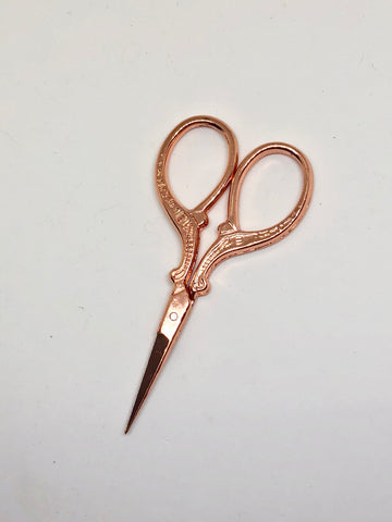 Rose Gold Needlework Scissors