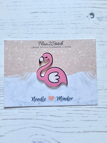 Flossy the Flamingo Needle Minder