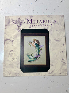 The Queen Mermaid Mirabilia MDL57 Cross Stitch Chart