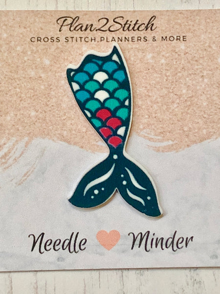 Oceanic Mermaid Tail Needle Minder