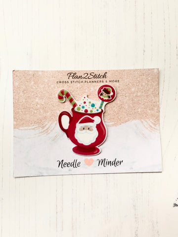 Christmas Needle Minder for Cross Stitch and Needlepoint