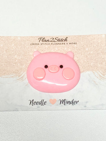 Piggy Wiggy Face Needle Minder