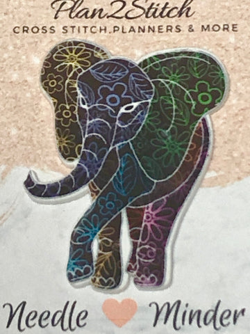 Patterned Elephant Needle Minder