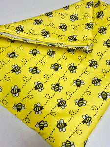 Bumbly Bee Luxury Padded Project Bag, Q-Snap Frame Cover Set