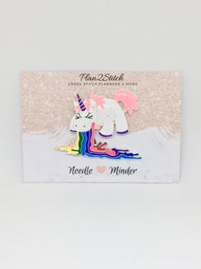 Rainbow Unicorn Alloy Needleminder
