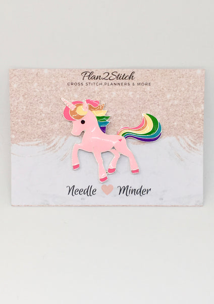 Pink Unicorn Alloy Needleminder