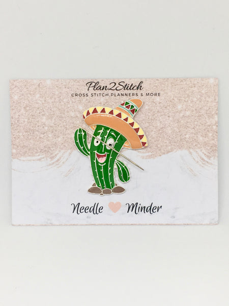 Mexican Cactus Alloy Needleminder