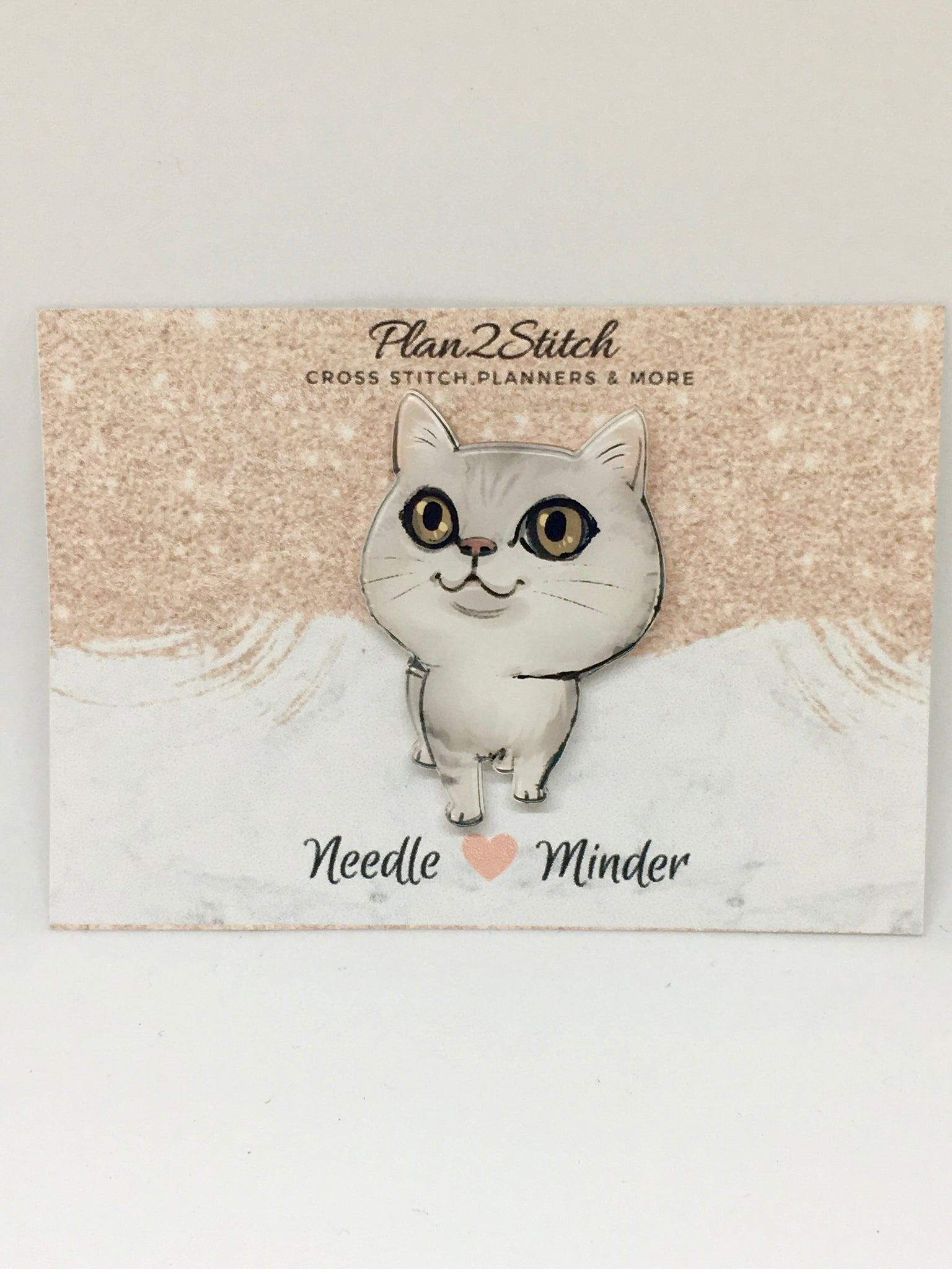 Belle the Cat Needleminder