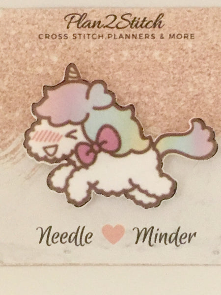 Kawaii Unicorn Needleminder