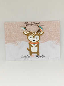 Ronald the Reindeer Alloy Needleminder