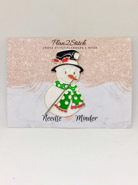 Snowman Alloy Needleminder