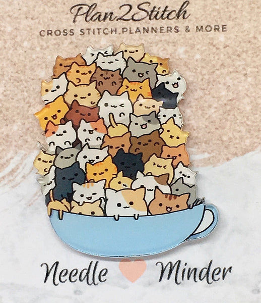 Bowl Of Cats Needleminder