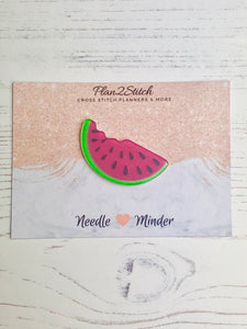 Glitter Watermelon Slice Needleminder