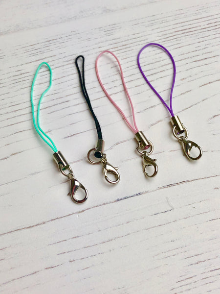 Pearl Bow Scissor Charms