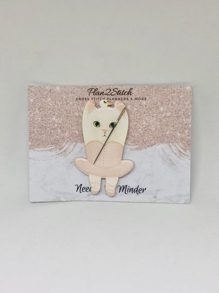 Ballerina Kitty Needleminder