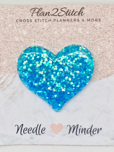 Hearts of Glitter Needleminder