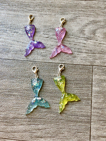 Shimmer Mermaid Tail Planner Charm