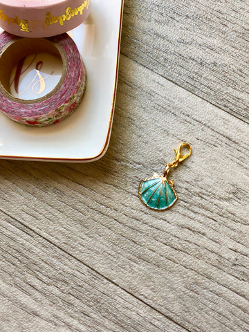 Under the Sea Shell Planner Charm