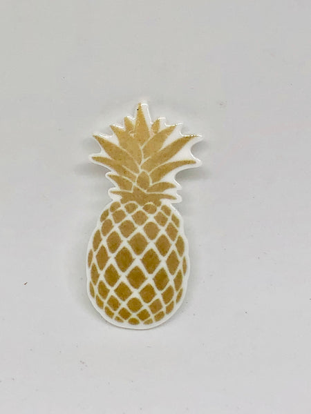 Golden Pineapple Needleminder