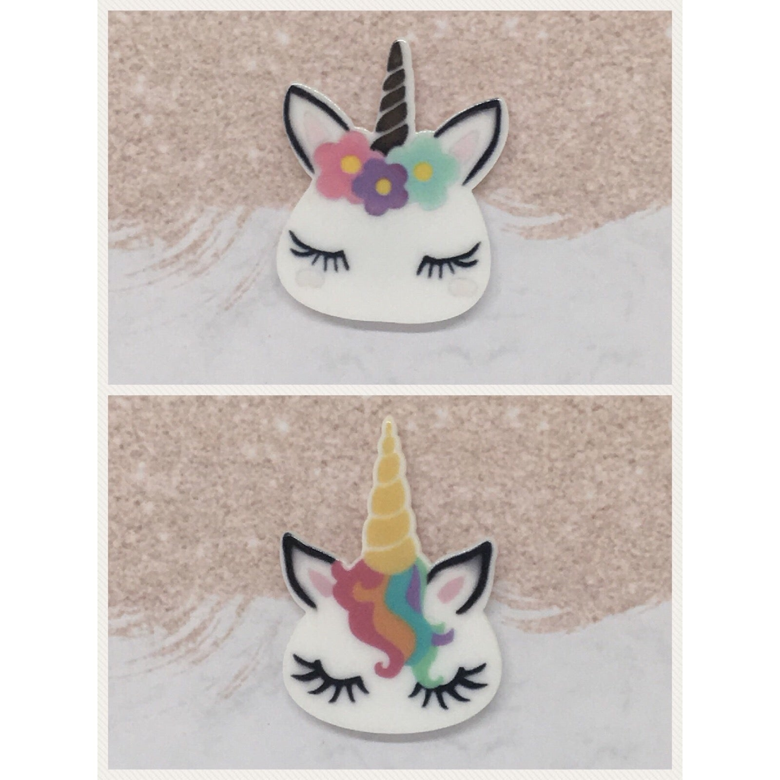 Cute Sleeping Unicorns Needleminder