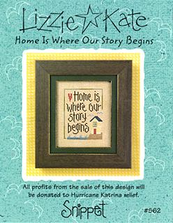 Home Is Where Our Story Begins Snippet Lizzie Kate Chart