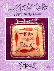 Happy Hoppy Easter Snippet Lizzie Kate Chart