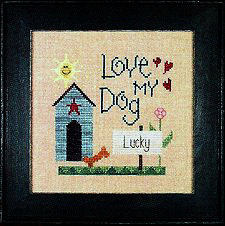 Love My Dog (Personalised)Snippet Lizzie Kate Chart