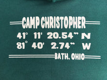 Now only $18! Camp Christopher Coordinates Hooded Sweatshirt