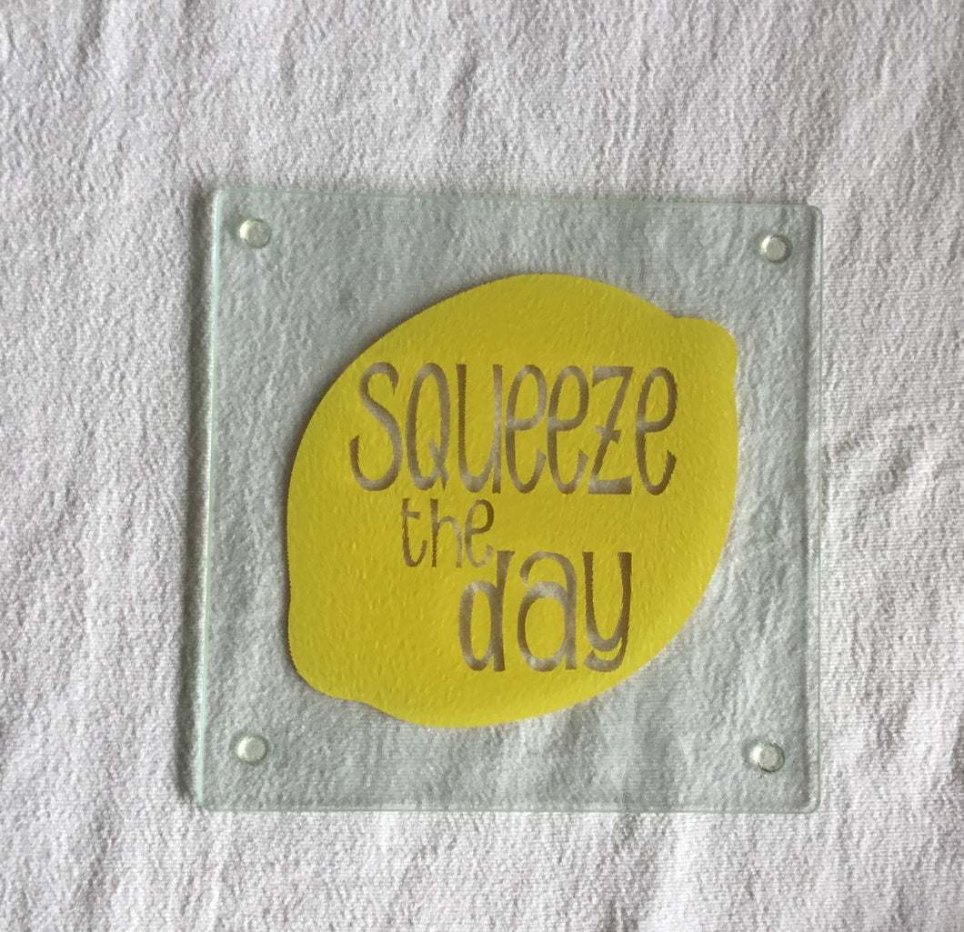 Squeeze the Day Trivet